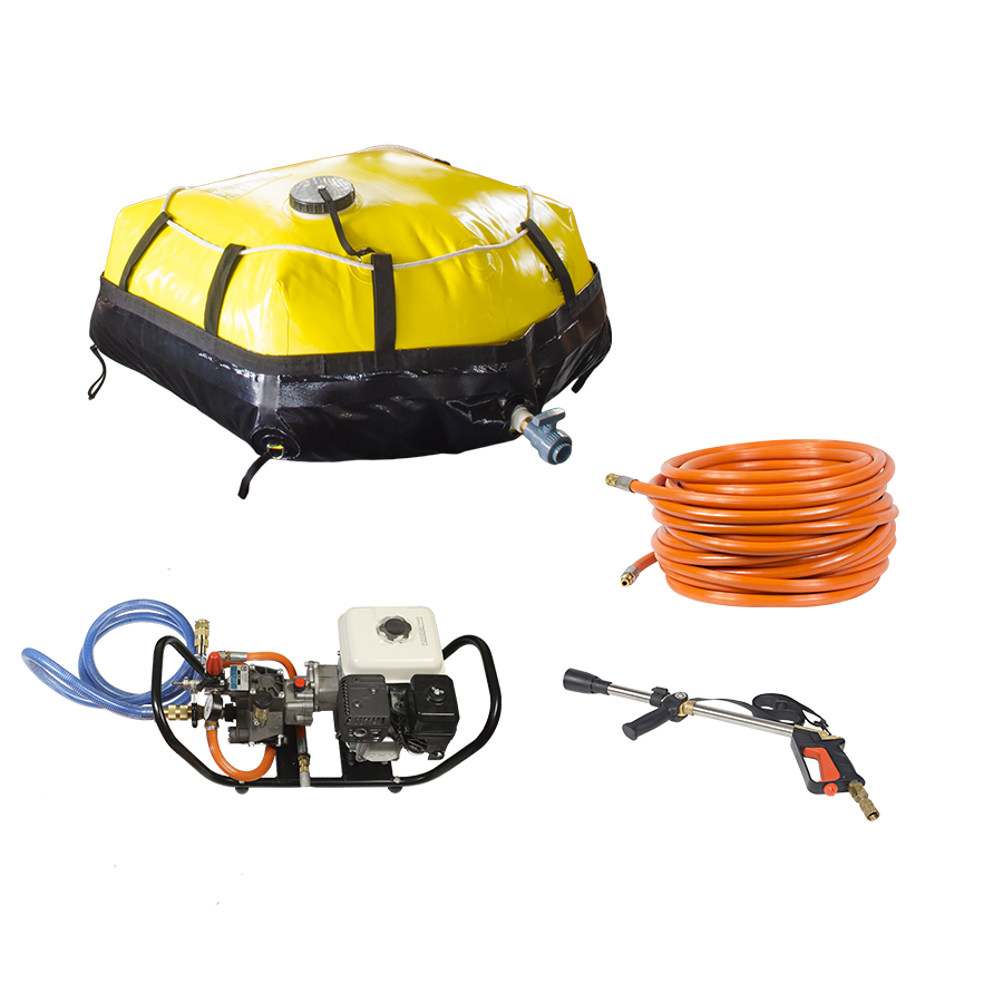 Conjunto de Combate para Pick-up - Tanque Flexível 250l