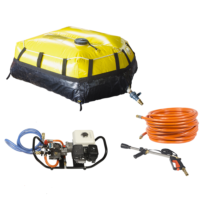Conjunto de Combate para Pick-up - Tanque Flexível 400L