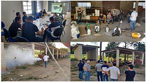 UNITAU  é sede para treinamento da Guarany