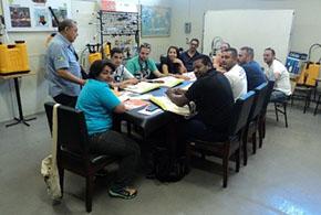 Equipe vem à Guarany para treinamento
