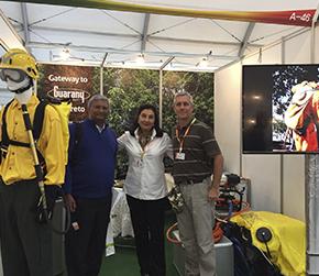 """""""Brasil tiene una gran experiencia en la lucha contra el fuego"""",  analiza el director de Guarany."""