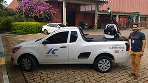 Guarany entrega equipamento para Inset Clean