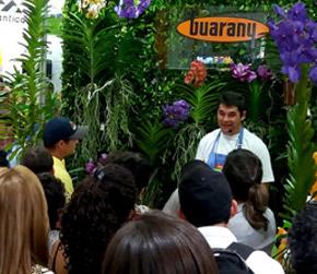 Guarany recebe cerca de 600 pessoas durante workshops sobre Orquídeas e Bonsai durante a 23ª edição da Hortitec