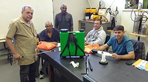 Técnicos da Zoonozes de Taquaritinga visitam a Guarany