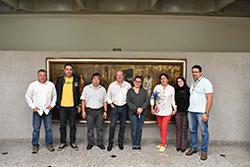 Visita Internacional na Guarany